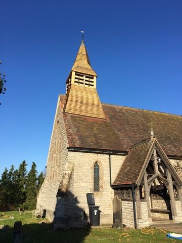 Church Steeple Restoration Complete