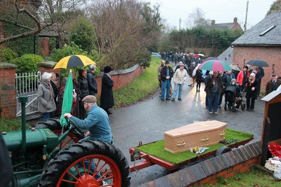 The Funeral of Roly Morris